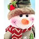 preiswerte Spielzeug für Weihnachten-Schneemann Niedlich Retro Schneemann Textil Jungen Mädchen Spielzeuge Geschenk 1 pcs