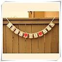 olcso Bajonettzáras LED lámpák-Lánybúcsú Kartonpapír Esküvői dekoráció Klasszikus téma Tavasz / Nyár / Ősz
