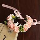 זול ארגון השולחן-פרחי חתונה עגול ורדים זר פרחים לפרק כף יד חתונה חתונה/ אירוע סאטן נייר