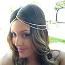 hesapli Saç Mücevheri-Kadın's Vintage alaşım Saç Bandı Altın