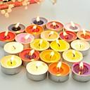 halpa Pikkulahjat - kynttilät-pyöreä pieni kynttilä yksi pala (satunnainen värit) häät suosii kauniita