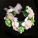 cheap Party Headpieces-Crystal Fabric Tiaras Wreaths 1 Wedding Party / Evening Headpiece