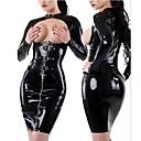 billige Sexy Uniformer-uniformer Cosplay Kostumer Dame Sexy Uniformer Halloween Karneval Nytt År Festival / høytid Drakter