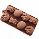 ieftine Audió és videó-tort săpun mucegai mucegai iepure mucegai ouă de Paște silicon mucegai pentru ciocolată bomboane