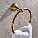 cheap Bathroom Shelves-Towel Bar High Quality Antique Brass 1 pc - Hotel bath towel ring