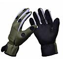 זול Fishing Gloves-כפפות עמיד / עמיד למים / נושם פּוֹלִיאֶסטֶר חורף יוניסקס ציד / דיג / ספורט חורף
