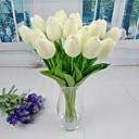 baratos Aparelhos para Cuidado Facial-Flores artificiais 6 Ramo Estilo simples Tulipas Flor de Mesa