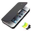 baratos Capinhas para Celular & Protetores de Tela-Capinha Para iPhone 5C Apple Capa Proteção Completa Rígida PU Leather para iPhone 5c