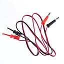 cheap 3D Printers-Test Line / Banana Plugs Turn Test Hook / 2 Plug Hook Turn 2(1 M Cable Length)