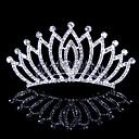 preiswerte Parykopfbedeckungen-Krystall / Stoff / Aleación Tiaras mit 1 Hochzeit / Besondere Anlässe / Party / Abend Kopfschmuck