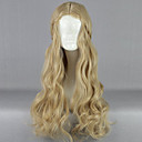 cheap Party Headpieces-Synthetic Wig Women's Blonde Blonde Wig Long Flaxen