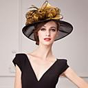 baratos Acessórios de Cabelo-Organza Chapéus / Decoração de Cabelo com Floral 1pç Casamento / Ocasião Especial / Casual Capacete