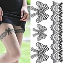 cheap Temporary Tattoos-1 pcs Tattoo Stickers Temporary Tattoos Romantic Series Eco-friendly / Disposable Body Arts Arm / Leg