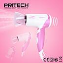 Χαμηλού Κόστους Ξύρισμα & Αποτρίχωση-Pritech μάρκα μόδας μίνι πτυσσόμενο πολύχρωμα στεγνωτήρας μαλλιών 1600W με ιοντική πιστολάκι επαγγελματική κομμώσεις