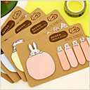 cheap Office Basics-Animal 2 Shapes Kraft Paper Self-Stick Note For School / Office