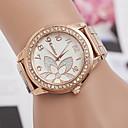 abordables Relojes de Moda-Mujer Reloj de Pulsera Reloj Casual Aleación Banda Encanto / Moda Plata / Oro Rosa