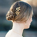 cheap Party Headpieces-Headwear / Barrette / Hair Pin with Floral 1pc Wedding / Special Occasion / Casual Headpiece