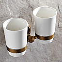 cheap Toothbrush Holder-Toothbrush Holder Antique Brass 1 pc - Hotel bath