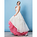 cheap Wall Stickers-Wedding Special Occasion Party / Evening Slips Tulle Floor-length A-Line Slip Classic & Timeless with