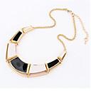 preiswerte Modische Broschen-Damen Halsketten - Personalisiert, Europäisch Schwarz, Orange, Hellblau Modische Halsketten Für