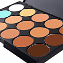 cheap Concealers & Contours-15 colors Concealer / Contour Wet / Matte / Shimmer Cream Whitening / Fast Dry / Coverage Body / Face