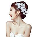 preiswerte Parykopfbedeckungen-Perle / Krystall / Stoff Tiaras / Stirnbänder / Blumen mit 1 Hochzeit / Besondere Anlässe / Party / Abend Kopfschmuck / Haarnadel / Aleación