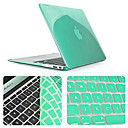cheap Mac Accessories-Solid Color Newest Crystal Full Body Case with Keyboard Cover for Macbook Air 11.6 inch (Assorted Colors)