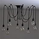 billige Hengelamper-8-Light Lysekroner Omgivelseslys - Stearinlys Stil, 110-120V / 220-240V Pære ikke Inkludert / 15-20㎡ / E26 / E27