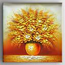זול ציורי סגנון חיים-ציור שמן צבוע-Hang מצויר ביד - טבע דומם מודרני בַּד
