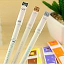 ieftine Depozitare & Organizare-Stilou Stilou Pixuri cu Gel Stilou, Plastic Negru Culori de cerneală For Rechizite școlare Papetărie Pachet de