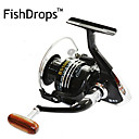 cheap Fishing Reels-Fishing Reel Spinning Reel 5.5:1 Gear Ratio+13 Ball Bearings Hand Orientation Exchangable Left-handed Right-handed Sea Fishing Bait