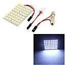 cheap Car Interior Lights-SO.K T10 Car Light Bulbs 8 W SMD 5050 500 lm 48 Exterior Lights
