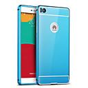 זול מגנים לטלפון & מגני מסך-כיסוי אחורי צפוי / מראה צבע אחיד אקרילי קשיח Case כיסוי HuaweiHuawei P9 / Huawei P8 / Huawei P8 Lite / Huawei P7 / Huawei Honor 6 Plus /