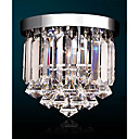 cheap Chandeliers-Chandelier Uplight - Crystal, Mini Style, LED, 110-120V / 220-240V, White, Bulb Included / 0-5㎡ / LED Integrated