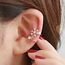 olcso Divat fülbevalók-Női Fül Mandzsetta - Strassz Ezüst / Aranyozott Kompatibilitás Esküvő Parti Napi