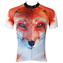 preiswerte Radsport Hosen,Kurze Hosen,Stumpfhosen-ILPALADINO Herrn Kurzarm Fahrradtrikot - Orange / Regenbogen Cartoon Design / Tier Fahhrad Trikot / Radtrikot, Rasche Trocknung,