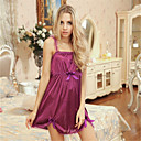 cheap Testers & Detectors-Women's Lace Plus Size Teddy Nightwear - Lace Solid Colored Purple XL XXL XXXL