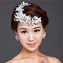 tanie Imprezowe nakrycia głowy-Żywica Opaski na głowę z 1 Ślub / Specjalne okazje Winieta