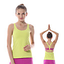 cheap Fitness, Running & Yoga Clothing-Yokaland Women's Racerback / Open Back Yoga Top - White, Orange, Green Sports Spandex Vest / Gilet / Tank Top / Top Running, Fitness, Gym Sleeveless Activewear Four-way Stretch, Softness Stretchy