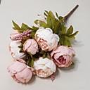 olcso Dekoratív tárgyak-Művirágok 1 Ág Modern stílus Bazsarózsák Asztali virág