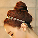 cheap Hair Jewelry-Lucky Doll Women's All Matching Vintage Elegant Rose Long Headband