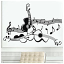 cheap Wall Stickers-Music Wall Stickers Plane Wall Stickers Decorative Wall Stickers, Vinyl Home Decoration Wall Decal Wall