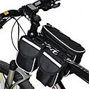 halpa Pyöräilyjersey ja shortsit/housut -setit-Acacia Pyörälaukku <10L Pyörän Sateen kestävä Monitoiminen Pyörälaukku 600D Ripstop Pyöräilylaukku Pyöräily / Pyörä