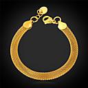 cheap Bracelets-Women's Figaro Chain Chain Bracelet / Bracelet - Stainless Steel, Gold Plated Fashion Bracelet For Christmas Gifts / Wedding / Party