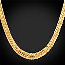 preiswerte Modische Halsketten-Damen Klobig Halsketten / Ketten - Platiert, vergoldet Modisch Silber, Rose, Golden Modische Halsketten Schmuck Für Hochzeit, Party, Alltag