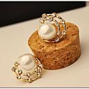 preiswerte Modische Ohrringe-Kreolen - Perle, Künstliche Perle, Kubikzirkonia Stern, Galaxis Retro, Party, Büro Farbbildschirm Für / Diamantimitate / Hülle