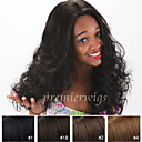 cheap Closure & Frontal-Human Hair Unprocessed Human Hair Lace Front Wig Brazilian Hair Curly Wig 130% Density with Baby Hair Natural Hairline African American Wig 100% Hand Tied Women's Short Medium Length Long Human Hair