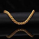 preiswerte Religiöser Schmuck-Damen Ketten- & Glieder-Armbänder - vergoldet Armbänder Gold Für Weihnachts Geschenke / Hochzeit / Party
