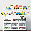 preiswerte Wand-Sticker-Formen Cartoon Design Transport Wand-Sticker Flugzeug-Wand Sticker Dekorative Wand Sticker, PVC Haus Dekoration Wandtattoo Wand