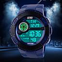 hesapli Saat Aksesuarları-Erkek Bilek Saati Spor Saat Silikon Bant İhtişam Siyah / Mavi / Yeşil
